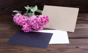 Funeral Bookmarks and Stationery