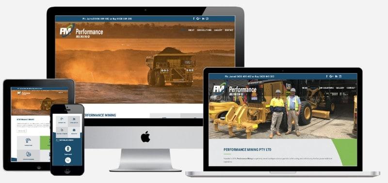 Performance Mining Website
